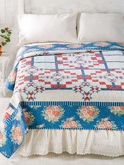 Summer at Charlevoix Quilt Pattern
