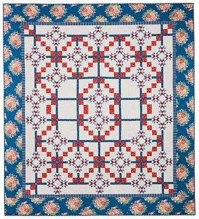Summer at Charlevoix Quilt Pattern