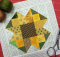Scrappy Sunflower Block Tutorial
