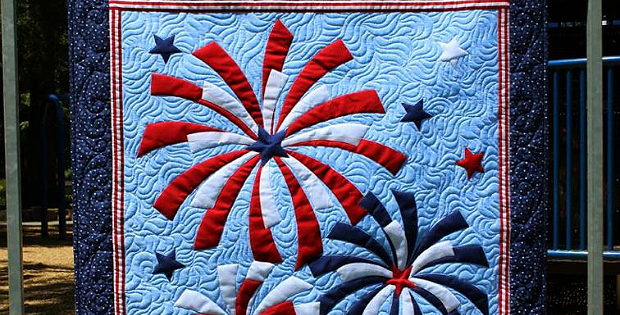 Fireworks Wall Hanging Pattern