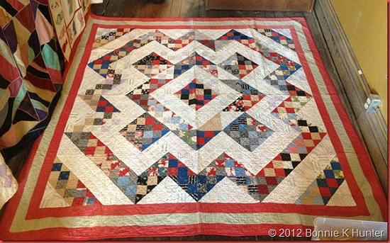 Perkiomen Valley Split 9 Patch Quilt