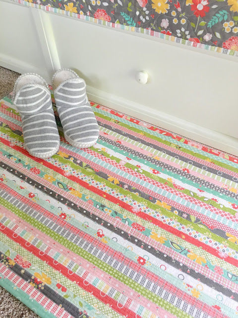 Jelly Roll Rug Pattern 2