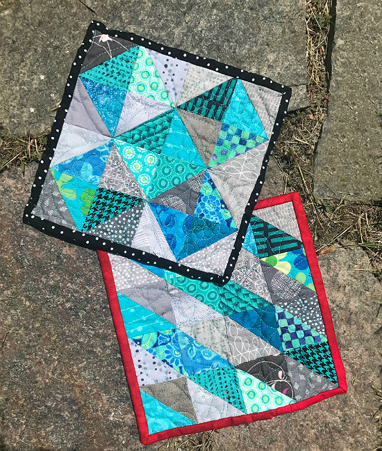 Accordion Sewn HSTs Tutorial