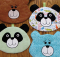 Amanda Panda and Bear Hot Pad Pattern