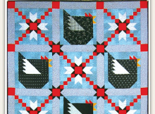 Chicken & Stars Quilt Pattern