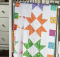 Color Burst Baby Quilt Pattern