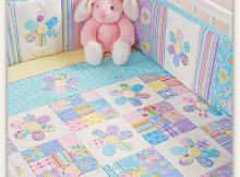 Flower Fancies Crib Set Pattern