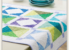 Four Corners Table Runner Pattern