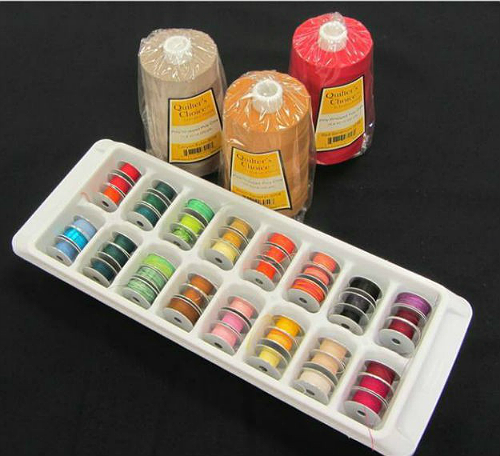 Creative Ideas for Storing Bobbins