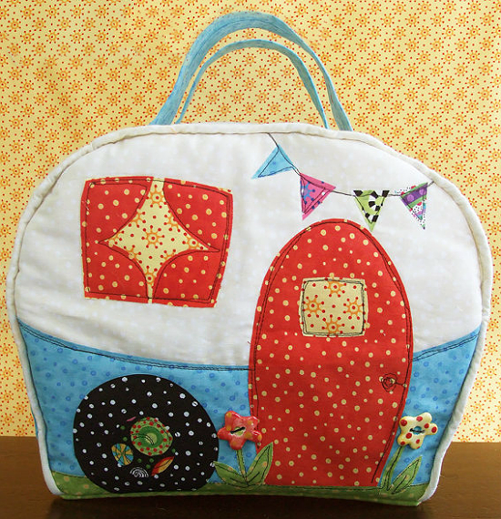 Happy Camper Bag Pattern