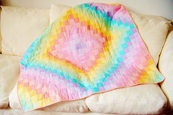 Rainbow Baby Quilt Pattern