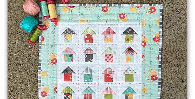 Mini Neighborhood Quilt Pattern