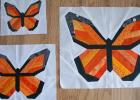 Monarch Butterfly Block Pattern