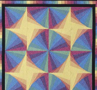 Radiant Rainbows Quilt Pattern