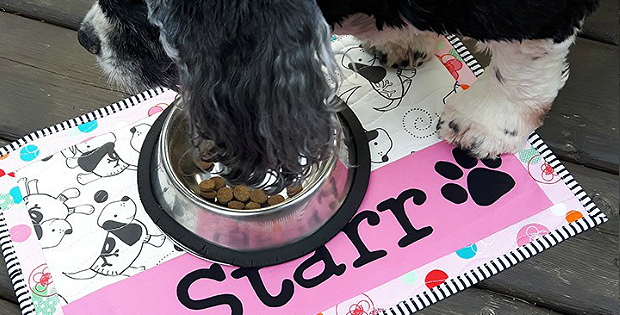 Treat a Favorite Pet to Their Own Place Mat