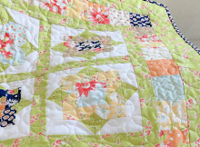 Wallflowers Quilt Pattern