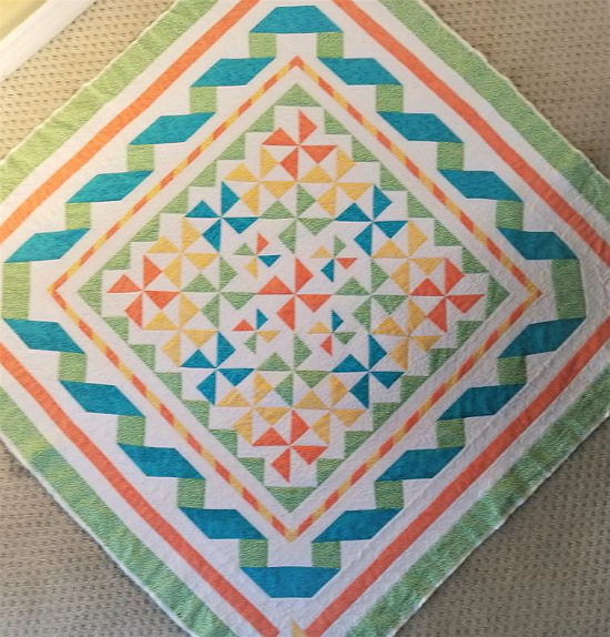Wind and Water Quilt Pattern