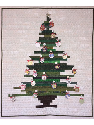 Oh, Stripmas Tree Quilt Pattern