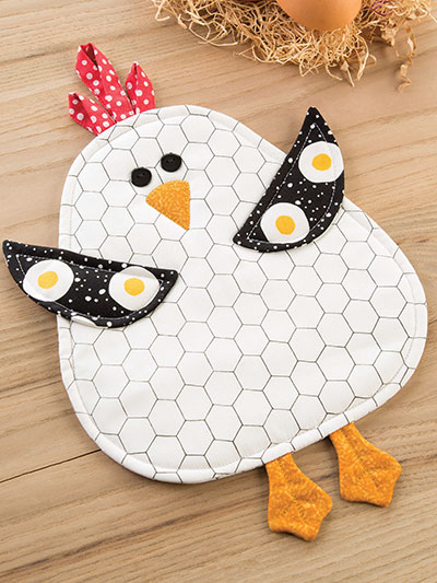 Sunny Side Up Pot Holder Pattern