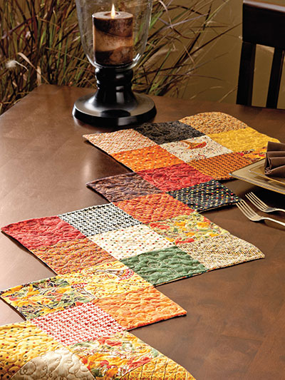 Harvest Charm Table Runner Pattern