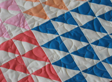 How to Make 16 Half-Square Triangles at a Time