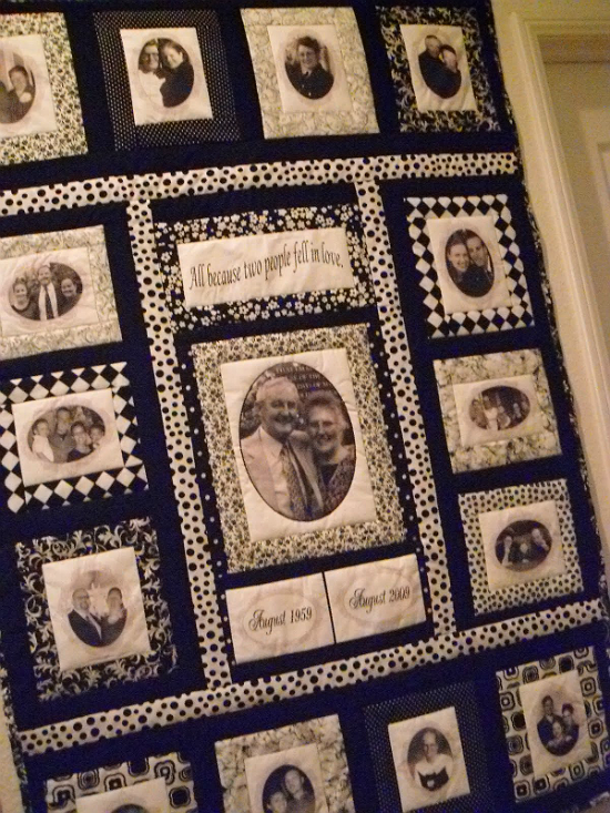 50th Anniversary Quilt