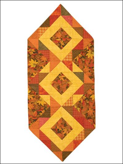 Autumn Hues Runner Pattern