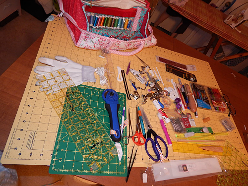My Quilters Bee Bag