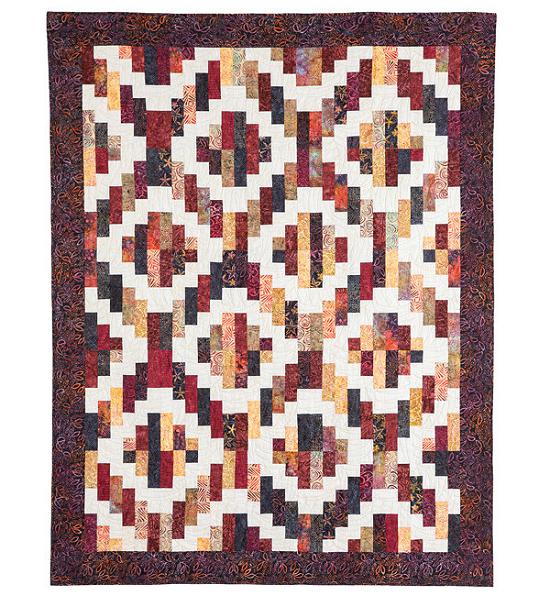 Bonfire Quilt Pattern