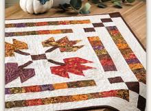 Autumn Medallion Quilt Pattern