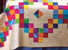 Diamond Candy Quilt Pattern