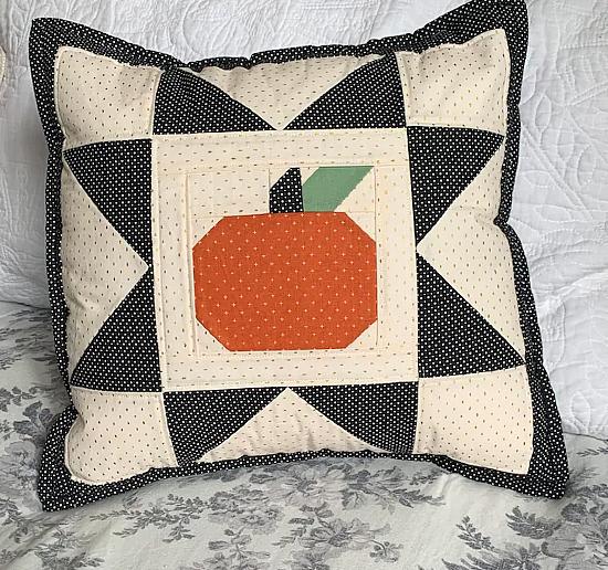 Pumpkin Star Block Pattern
