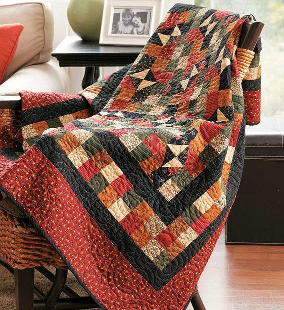 Lickety-Split Quilt Pattern
