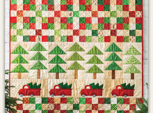 Tree Time Quilt Pattern