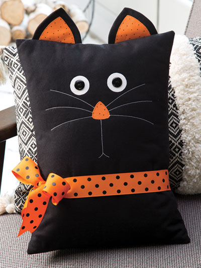 Black Cat Pillow Pattern