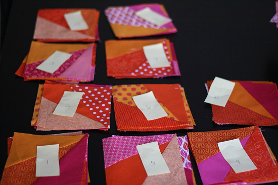 Keep Track of Quilt Blocks With Markers