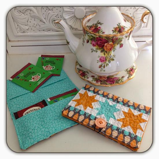 Tea Bag Wallet Pattern
