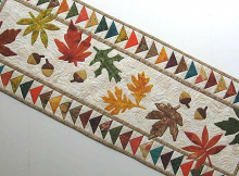 Autumn Flight Table Runner
