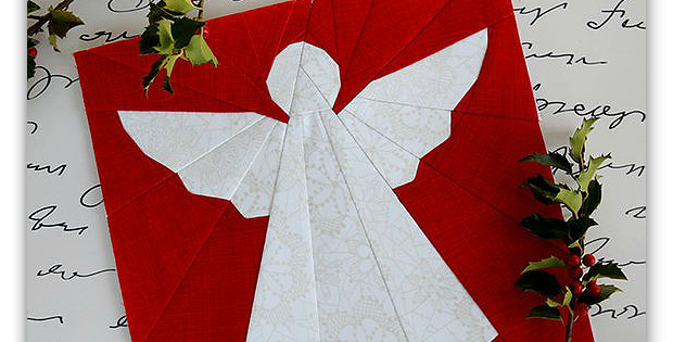 Cookie Cutter Angel Block Pattern