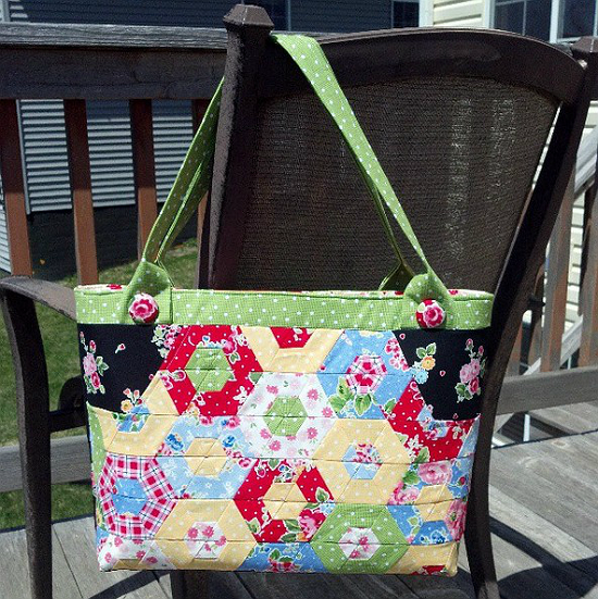 Hexi Happy Bag Pattern