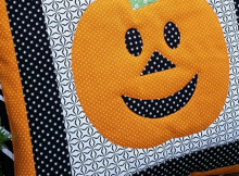 Happy Pumpkin Pillow Pattern