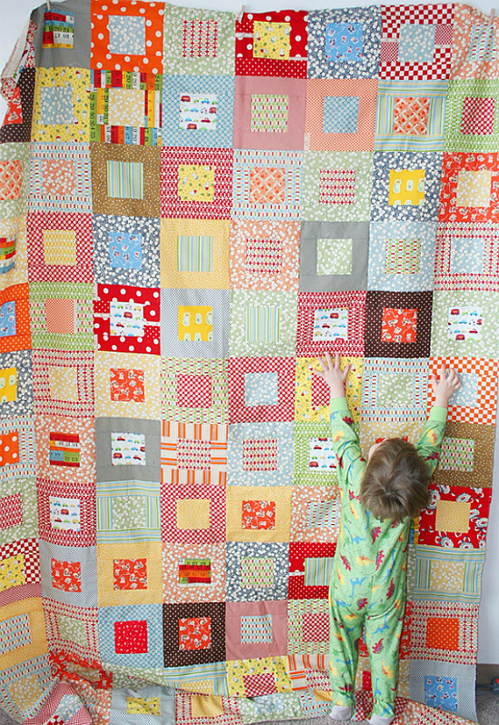 Tips for Quilting a Large Quilt by Machine