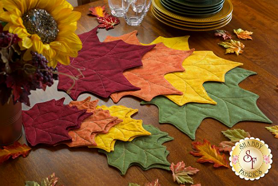 Maple Leaf Placemats & Coasters