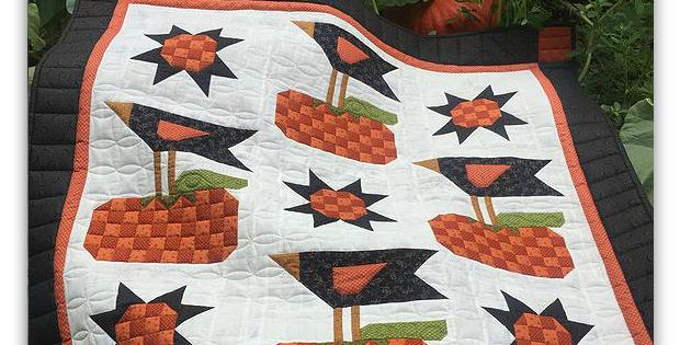 My Crow Garden Quilt Pattern