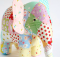 Patchwork Stuffed Elephant