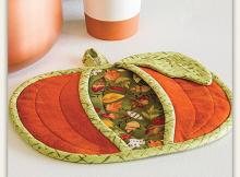 Pumpkin Pot Holder Quilt Pattern