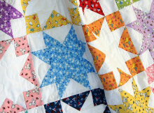 Shadow Stars Quilt Tutorial