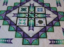 Shimmer Braid Quilt Pattern