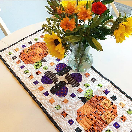 Spooky Delight Table Runner Pattern