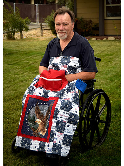 Holding Your Own Wheelchair Quilt Pattern